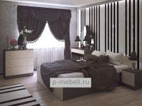 Спальный гарнитур ФБ-03 венге/дуб